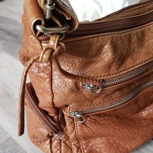 Buttery Soft Leather Bueno Bag Vegan